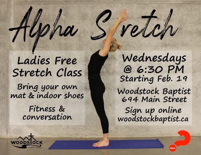Alpha Stretch