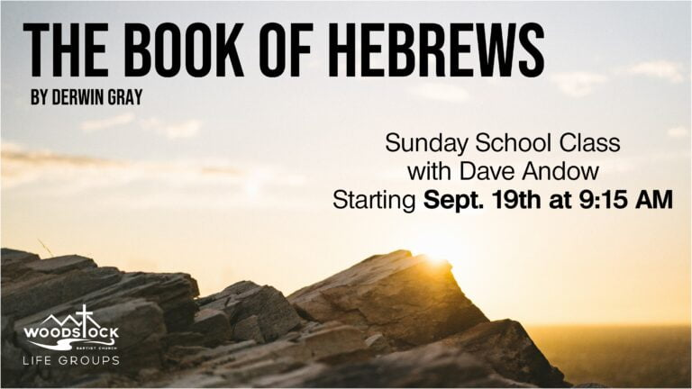 Dave Andow - Hebrews