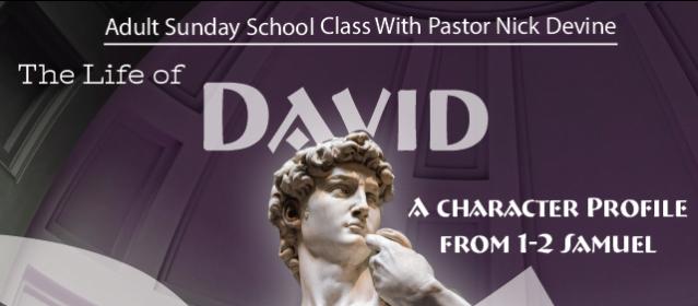 David sunday school