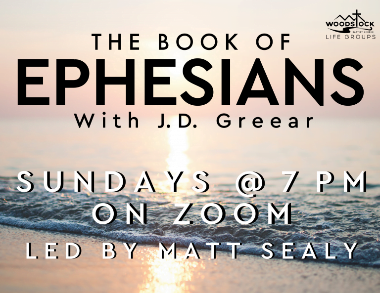 Ephesians Life Group - Matt Sealy A