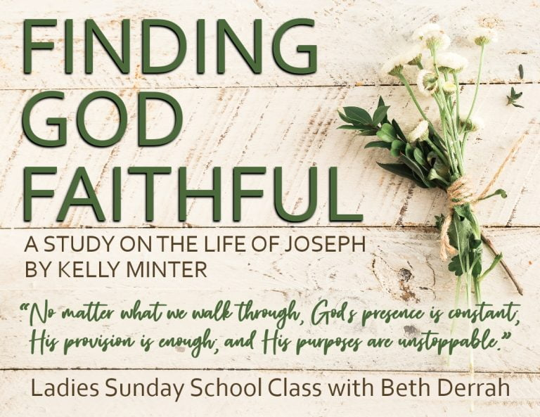 Finding God Faithful - SS Winter 2020 - B.D.MS