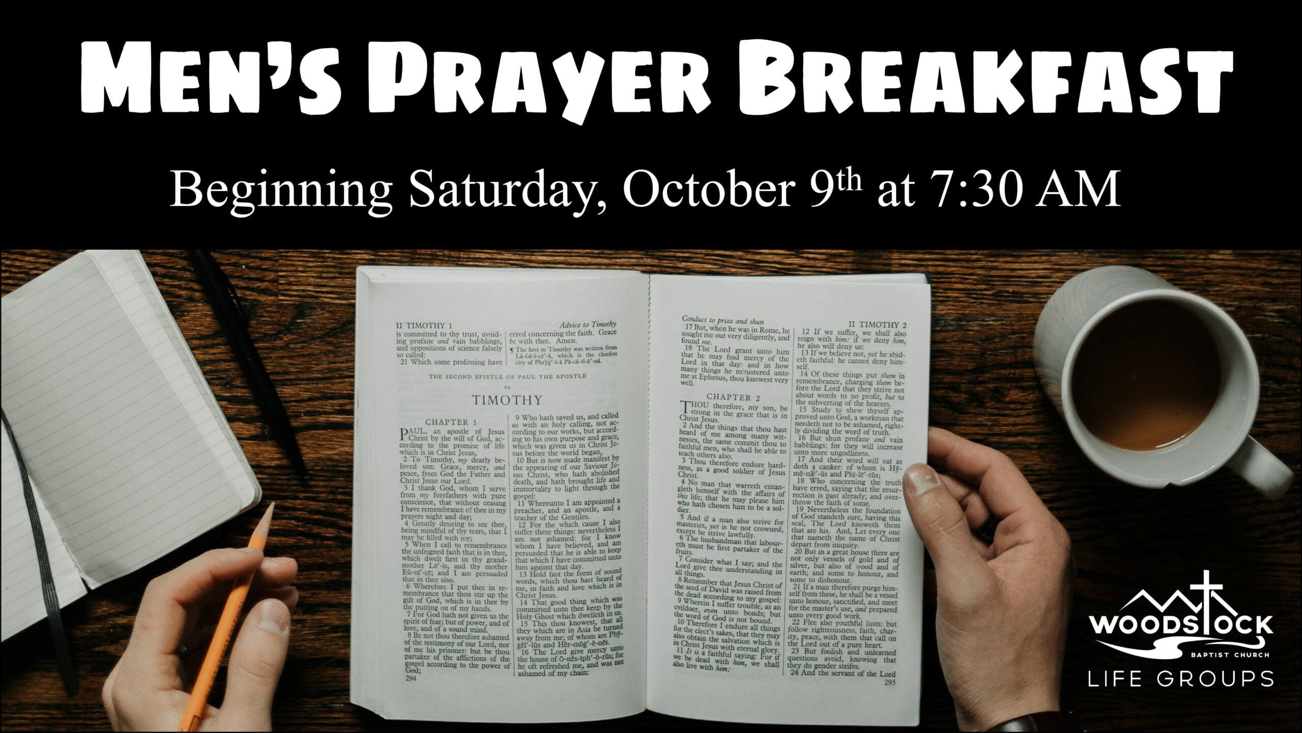 Men's Prayer Breakfast x2
