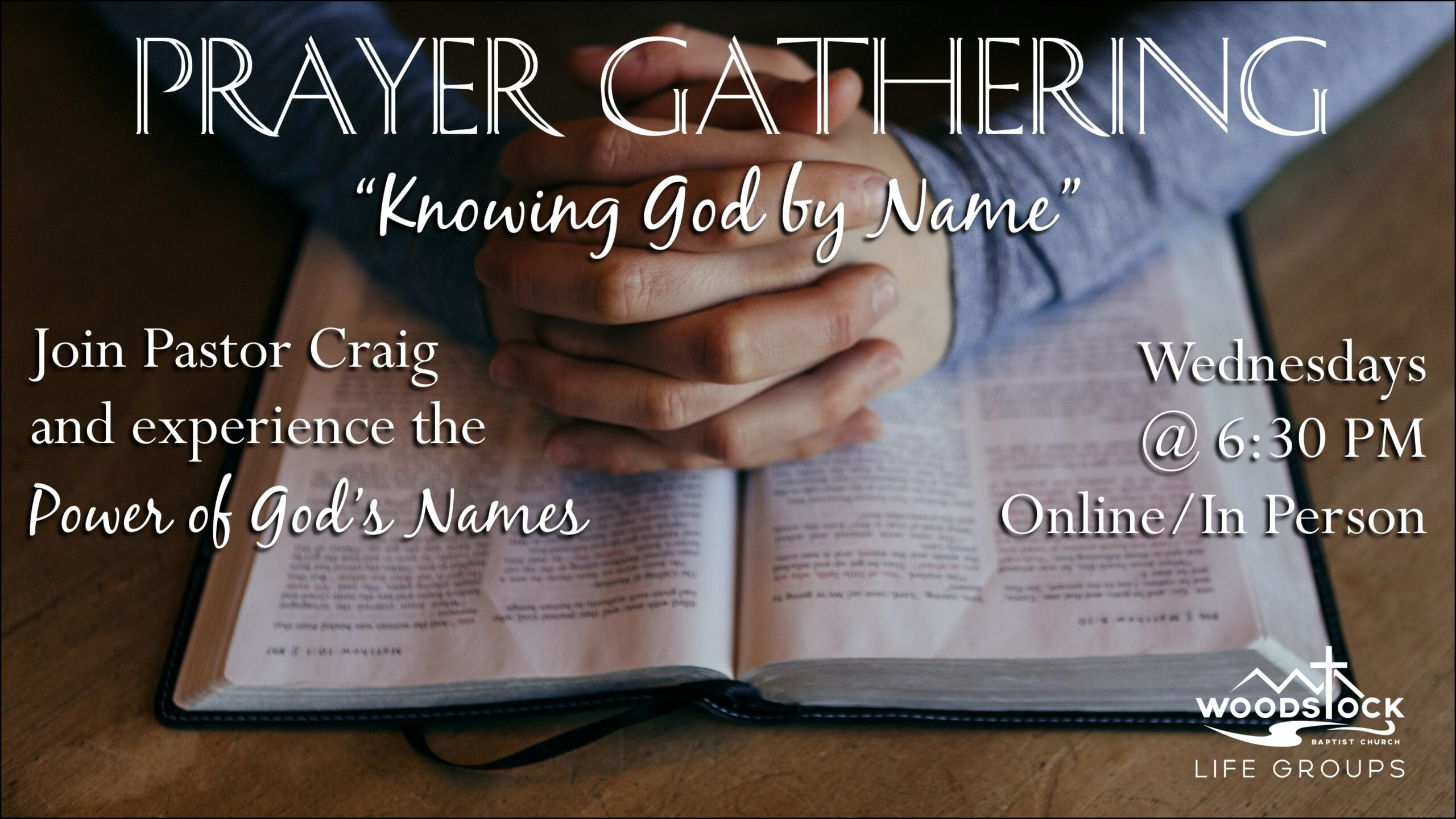 Prayer Gathering Without Date