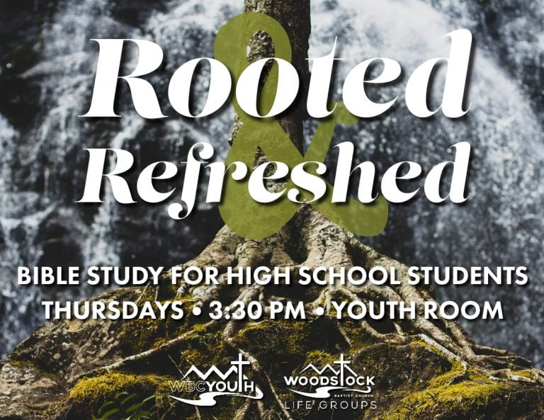 Rooted & Refreshed Youth Bible Study - Media Shout