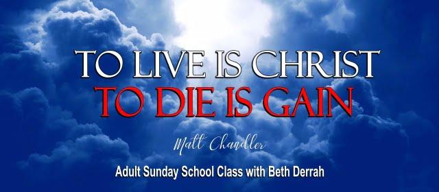 Adult Sunday School 1