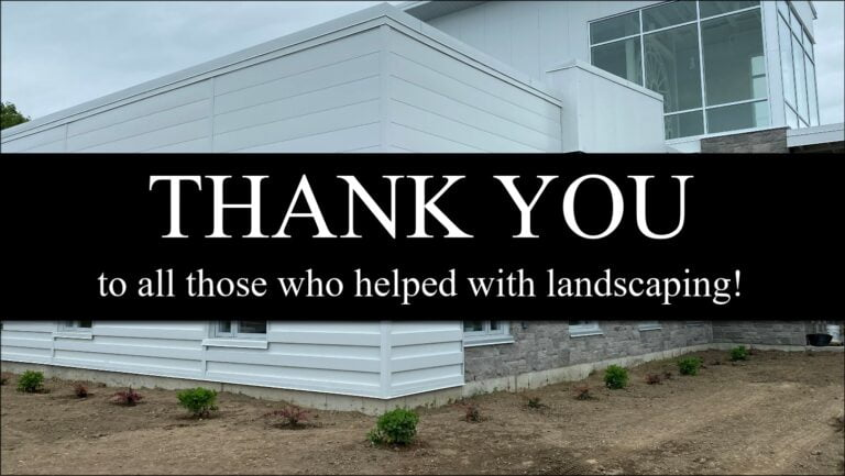 Thank You - Landscaping Poster