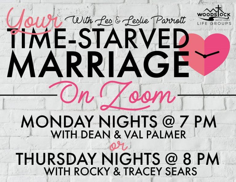 Time-Starved Marriage Life Group (1)