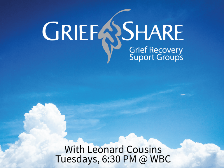 grief share poster